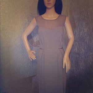 Stella McCartney gray sheath dress