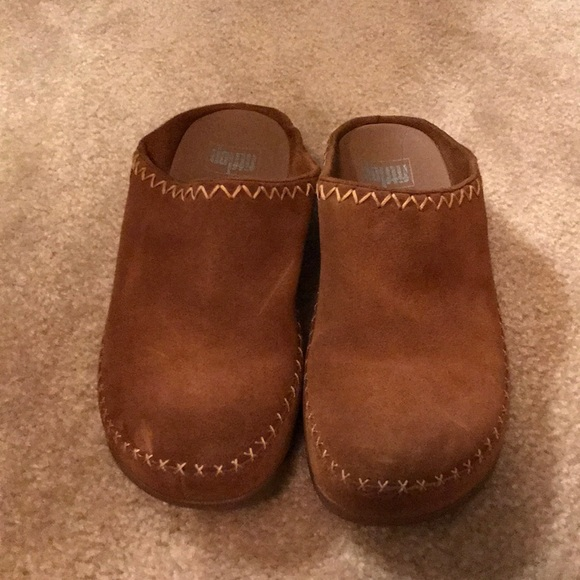 346f19e2f86540 Fitflop Shoes - Fitflop Gogh Moc Makizin Size 8 Chestnut