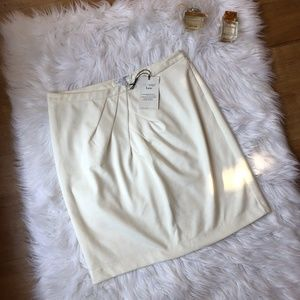 NWT New York And Co White Pencil Skirt