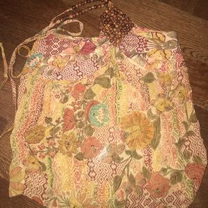 Tops - Printed halter Top Size Small