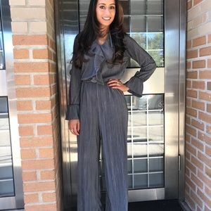 Zara gray jumpsuit