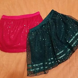 Fun girls size 7 -8 skirts