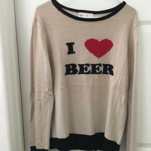 For love and lemons/ I Love Beer sweater