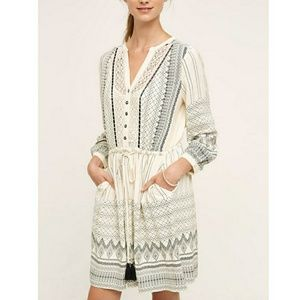 Anthropologie Floreat White Perrie Lace Dress