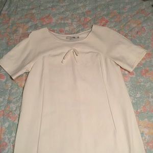 White Boden Graduation Dress