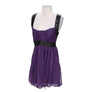 Walter Baker purple/black sequin Party dress Small