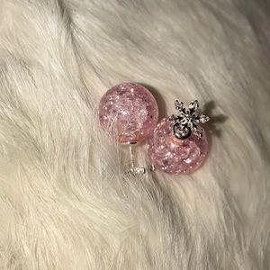 Jewelry - Beautiful pink earrings!!!