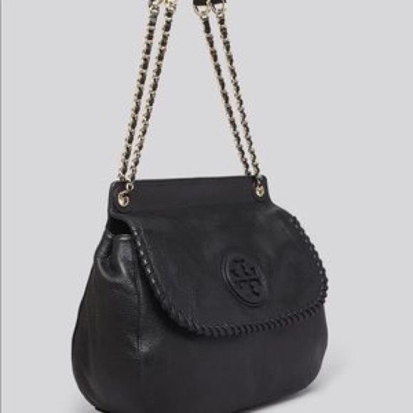5578cba6d619 Mint🎄tory burch Marion large saddle bag. M 5a28be2d7fab3addb401718e