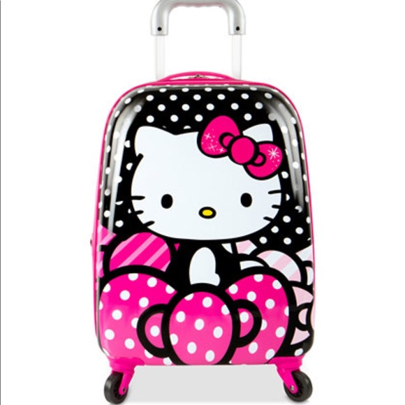 41a1249d5 Hello Kitty travel luggage bag spinner suitcase. M_5a28c508522b458e72019065