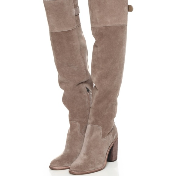 b818cc460ef Dolce Vita Shoes - Dolce Vita Okana Over the Knee Boots Taupe