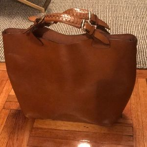 Zara Bags - Zara leather shopper
