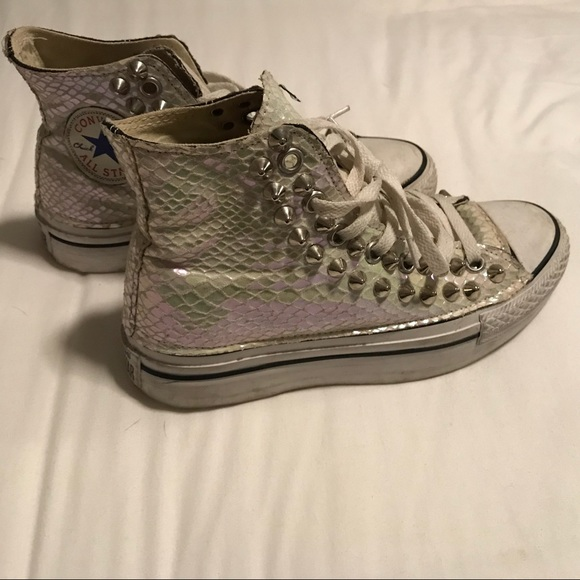 Customize Converse with studs & Converse Shoes   Customize With Studs   Poshmark