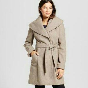 Tan Belted Coat