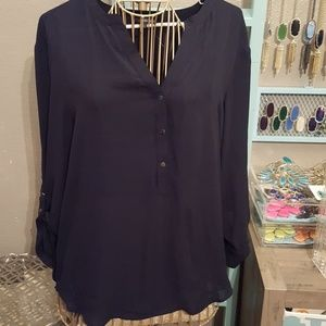 ADRIANNA PAPELL DRESS TOP