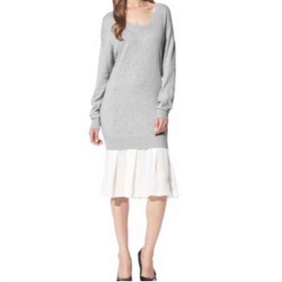 2375ea386e 3.1 Phillip Lim for Target Dresses   Skirts - 3.1 Phillip Lim Target Gray  Chiffon Sweater
