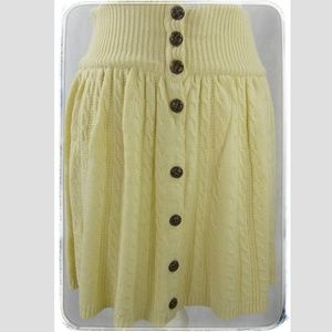 ASOS CABLE KNIT SKIRT