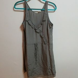 LAmade taupe/gray mini dress.