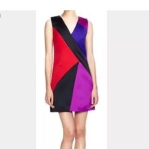 Milly color block dress