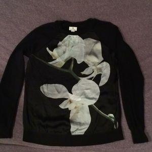 Altuzarra  Floral Target Shirt Black Size XS