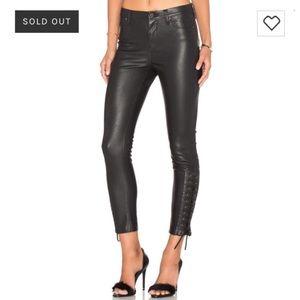 BLANKNYC Leather Pants