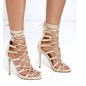 Strappy Heels Size 7