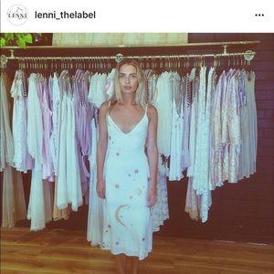 RARE Lenni the label moon and stars dress
