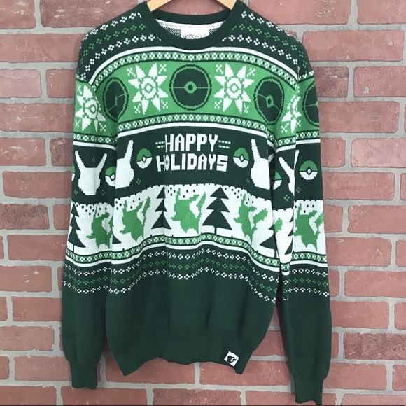 Pokemon Christmas Sweater.Pokemon Pikachu Ugly Christmas Sweater Nwt