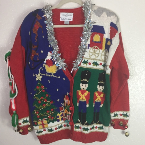 [Casual Corner] Vintage Ugly Christmas Sweater
