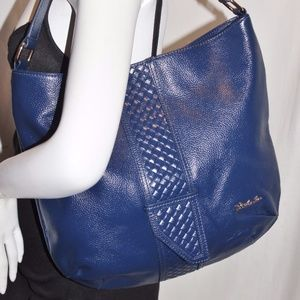 New BOSTANTEN Gloss Leather Hobo