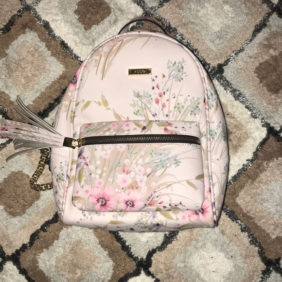 12d5353f414 Acenaria floral print mini backpack