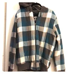 Vans off the wall lined hooded jacket