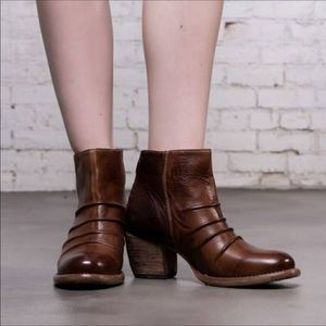 BED STU Arcane Leather Ankle Bootie