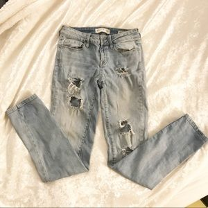 PacSun Skinny Ripped Jeans
