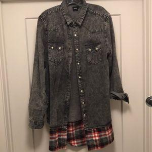 longline flannel