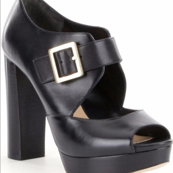 8dec713acbd KORS Michael Kors Shoes - Eleni leather Michael Kors new platform sandals