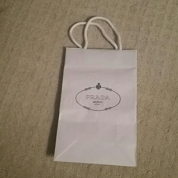 5f7341645220 Prada Bags | Paper Bag | Poshmark