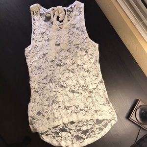 Ambiance apparel - lace tank