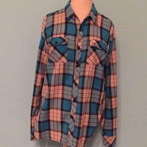 💥💧⬇️ Men's Element Plaids Flannel shirt.