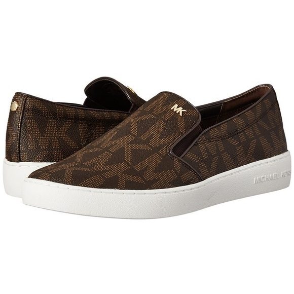 450c82d3b08b Michael Kors Keaton Slip-on Signature PVC sneakers