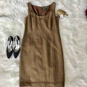 Gorgeous Tweed BRAND NEW Ralph Lauren Dress Sz 14
