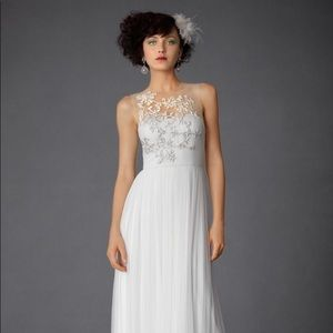 Brand new BHLDN wedding gown. Elysium gown