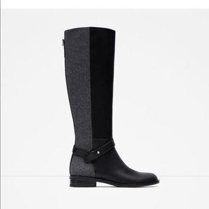 Zara combined boot