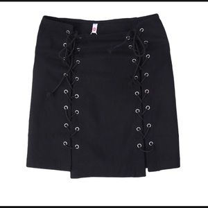 Dresses & Skirts - Lace Me Up Skirt