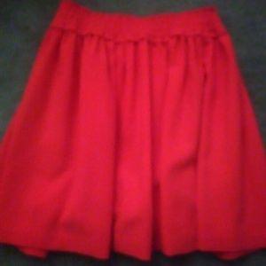 Kate Spade hot Barbie pink A-line skirt