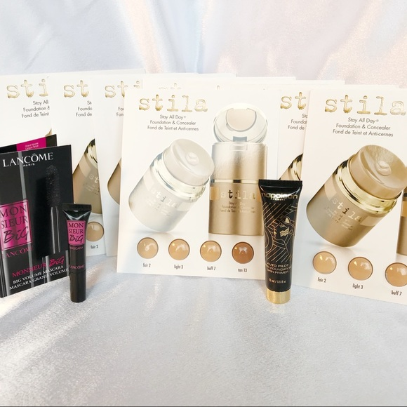 🆕Stila Foundation Samples Bundle #237🆕 NWT