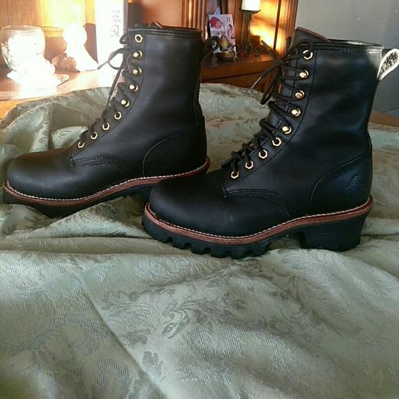 10c6baa1e70 Chippewa logger boots