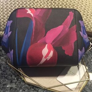 Ted Baker Large Floral Cosmetic Bag - New