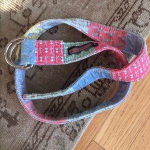 Vineyard vines women's belt medium
