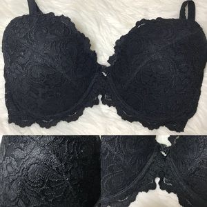 Other - Black Lace Lined Bra 40C