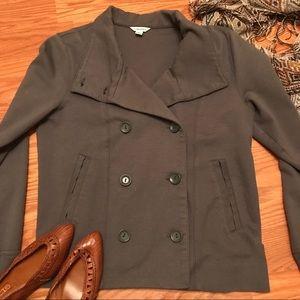 Calvin Klein Dark Gray Cotton Jacket Size Large